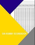 Gin Rummy Scorebook