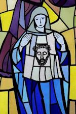 Veronica Holding Her Veil in Stained Glass Journal