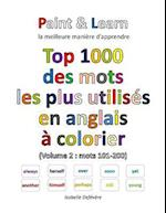 Top 1000 Des Mots Les Plus Utilises En Anglais (Volume 2