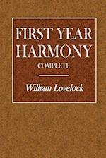 First Year Harmony