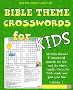 Kids Bible Theme Crossword Puzzles Volume 1