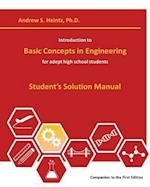 Introduction to Basic Concepts in Engineering
