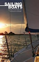 Sailing Boats Weekly Planner 2017