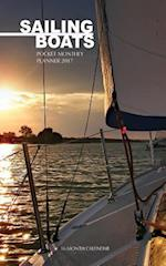 Sailing Boats Pocket Monthly Planner 2017