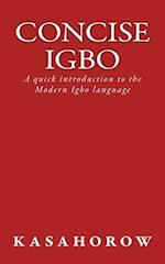 Concise Igbo