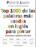 Top 1000 de Las Palabras Inglesas Mas Usadas (Volumen 3