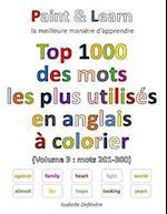 Top 1000 Des Mots Les Plus Utilises En Anglais (Volume 3
