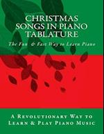 Christmas Songs in Piano Tablature af Joseph Caligiuri