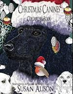 Christmas Canines - A Dog Lover's Colouring Book