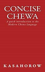 Concise Chewa