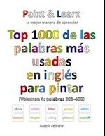 Top 1000 de Las Palabras Mas Usadas En Ingles (Volumen 4