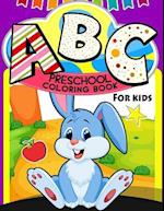 ABC Preschool Coloring Book