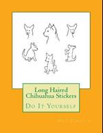 Long Haired Chihuahua Stickers
