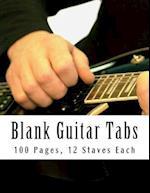Blank Guitar Tabs