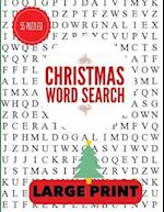 Christmas Word Search Large Print