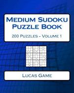 Medium Sudoku Puzzle Book af Lucas Game