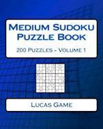 Medium Sudoku Puzzle Book