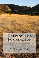 Keeping the Foundation