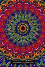 Magenta Mandala Journal Writing