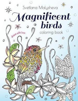 Bog, paperback Magnificent Birds af Svetlana Malysheva