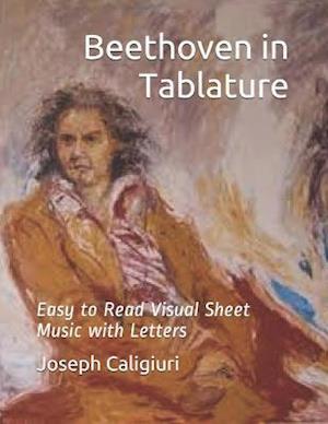 Bog, paperback Beethoven in Tablature af Joseph Caligiuri