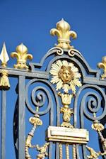 Gilded Fleur de Lis Gate Detail at the Palace of the Sun France Journal