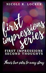 First Impressions Series af Nicole R. Locker