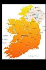 Map of Ireland Journal af Cool Image