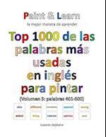 Top 1000 de Las Palabras Mas Usadas En Ingles (Volumen 5