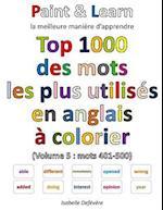 Top 1000 Des Mots Les Plus Utilises En Anglais (Volume 5