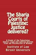 The Sharia' Courts of Palestine