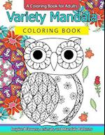 Variety Mandala Coloring Book Vol.1