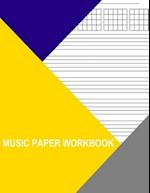 Music Paper Workbook