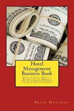 Hotel Management Business Book