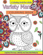 Variety Mandala Coloring Book Vol.2 af Mandala Coloring Book, Barbara W. Walker