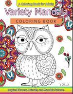 Variety Mandala Coloring Book Vol.2