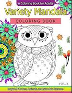 Variety Mandala Coloring Book Vol.3
