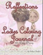 Reflections Ladies Coloring Journal 60 Day Diary af Bellamy Basford