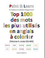 Top 1000 Des Mots Les Plus Utilises En Anglais (Volume 6