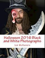 Halloween 2016 Black and White Photographs