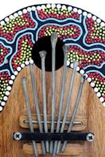Colorful Kalimba Africanthumb Piano Musical Instrument Journal