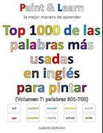 Top 1000 de Las Palabras Mas Usadas En Ingles (Volumen 7 Palabras 601-700)
