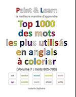 Top 1000 Des Mots Les Plus Utilises En Anglais (Volume 7