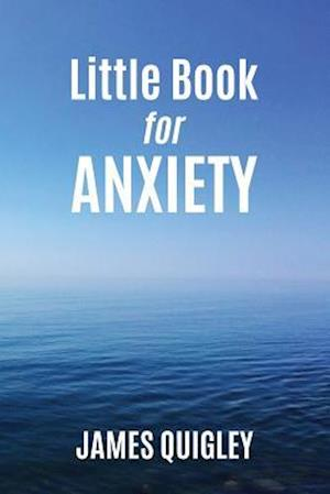 Bog, paperback Little Book for Anxiety af James Quigley