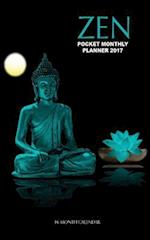 Zen Pocket Monthly Planner 2017
