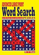 Advanced Large Print Word Search Puzzles