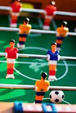 Table Football Game in Action Journal