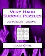 Very Hard Sudoku Puzzles Volume 1 af Lucas Game