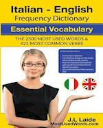 Italian English Frequency Dictionary - Essential Vocabulary