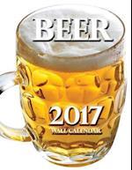 Beer 2017 Wall Calendar